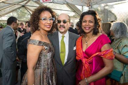 Tamara Tunie, Charles J. Hamilton Jr. and Pamela Carlton- Photo by Marc Millman
