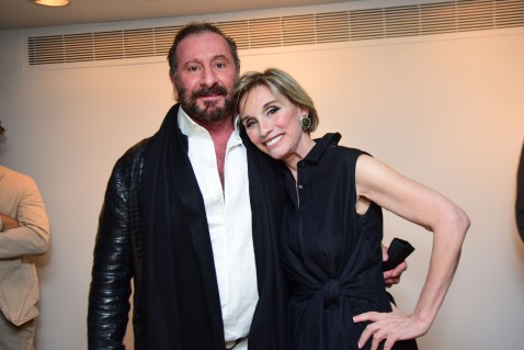 Ralph Rucci, Michele Gerber Klein (Photo - Aurora Rose/PMC)