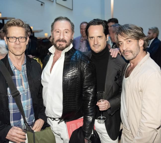 Scott McBee, Ralph Rucci , James Andrew, Paul Podlucky (Credit Annie Watt)