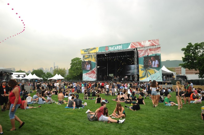 NEW YORK, NY - JUNE 01: A general over view of BACARDI Bay At Governors Ball Music Festival 2018 day 1 at Randall's Island on June 1, 2018 in New York City. (Photo by Brad Barket/Getty Images for Bacardi)
