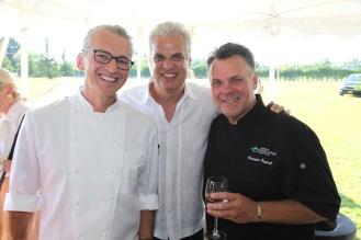 Christian Mir, Eric Ripert, Francois Payard