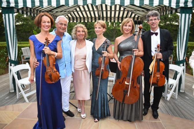 Jay Lieberman, Penny Lieberman, Budapest Orchestra Musicians