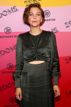 BROOKLYN, NY - SEPTEMBER 05: Maggie Gyllenhaal attends the Expand Your Reality Opening Party on September 5, 2018 in Brooklyn City. (Photo by Astrid Stawiarz/Getty Images for Refinery29)