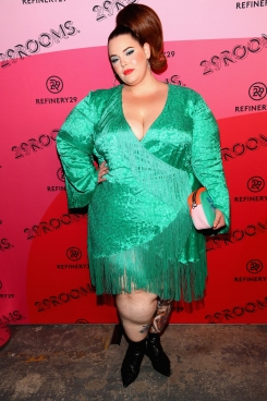 BROOKLYN, NY - SEPTEMBER 05: Tess Holliday attends the Expand Your Reality Opening Party on September 5, 2018 in Brooklyn City. (Photo by Astrid Stawiarz/Getty Images for Refinery29)