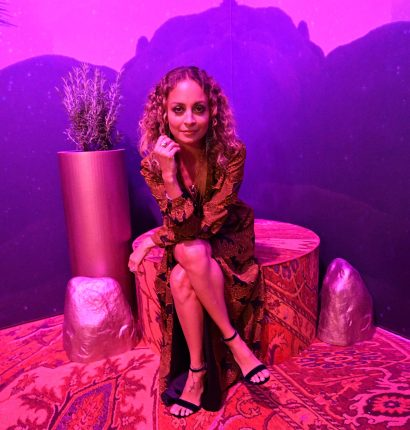 BROOKLYN, NY - SEPTEMBER 05: Nicole Richie attends the Expand Your Reality Opening Party on September 5, 2018 in Brooklyn City. (Photo by Dia Dipasupil/Getty Images for Refinery29)