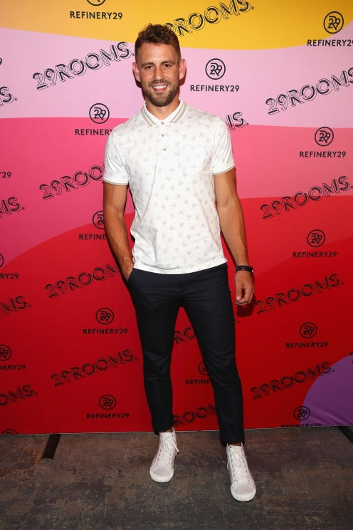 BROOKLYN, NY - SEPTEMBER 05: Nick Viall attends the Expand Your Reality Opening Party on September 5, 2018 in Brooklyn City. (Photo by Astrid Stawiarz/Getty Images for Refinery29)