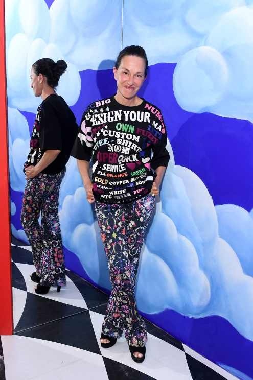 BROOKLYN, NY - SEPTEMBER 05: Cynthia Rowley attends the Refinery29 29Rooms New York 2018: Expand Your Reality Opening Party on September 5, 2018 in Brooklyn City. (Photo by Nicholas Hunt/Getty Images for Refinery29)