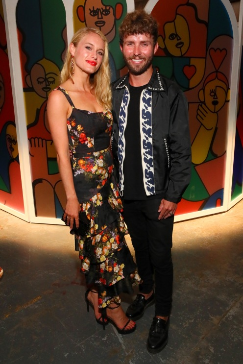 BROOKLYN, NY - SEPTEMBER 05: Leven Rambin and Timo Weiland attend the Expand Your Reality Opening Party on September 5, 2018 in Brooklyn City. (Photo by Astrid Stawiarz/Getty Images for Refinery29)