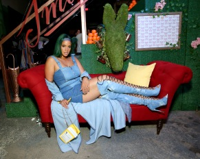 BROOKLYN, NY - SEPTEMBER 05: Dascha Polanco attends the Expand Your Reality Opening Party on September 5, 2018 in Brooklyn City. (Photo by Monica Schipper/Getty Images for Refinery29)