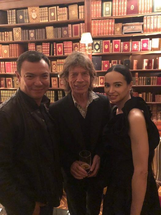 Ed Ratnikov, Mick Jagger, Diana Vishneva