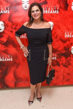 "Sylvia Hemingway attends Meet The Artists Creating ""Sleeping Beauty Dreams"" at Guggenheim Museum on September 13, 2018 in New York. (Photo by Presley Ann/PMC)"