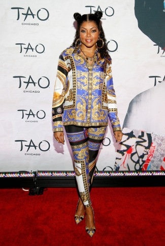 CHICAGO, IL - SEPTEMBER 15: Taraji P. Henson attends the TAO Chicago Grand Opening Celebration at TAO Chicago on September 15, 2018 in Chicago, Illinois. (Photo by Jeff Schear/Getty Images for TAO Chicago)