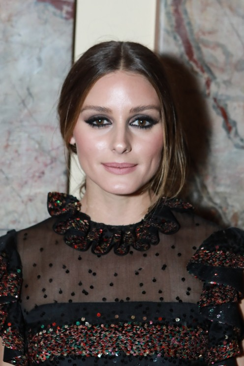 NEW YORK, NY - OCTOBER 16: Olivia Palermo attends Casita Maria Fiesta 2018 at The Plaza Hotel on October 16, 2018 in New York. (Photo by Gonzalo Marroquin/PMC) *** Local Caption *** Olivia Palermo