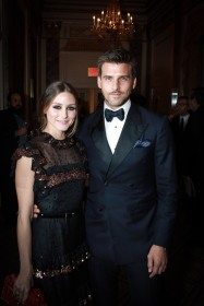 NEW YORK, NY - OCTOBER 16: Olivia Palermo and Johannes Huebl attend Casita Maria Fiesta 2018 at The Plaza Hotel on October 16, 2018 in New York. (Photo by Gonzalo Marroquin/PMC) *** Local Caption *** Olivia Palermo;Johannes Huebl
