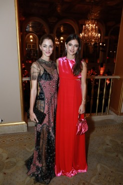 NEW YORK, NY - OCTOBER 16: Sofia Sanchez de Betak and Natalya Poniatowski attend Casita Maria Fiesta 2018 at The Plaza Hotel on October 16, 2018 in New York. (Photo by Gonzalo Marroquin/PMC) *** Local Caption *** Sofia Sanchez de Betak;Natalya Poniatowski