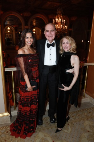 NEW YORK, NY - OCTOBER 16: Dayssi Olarte de Kanavos, John Loeb and Sharon Loeb attend Casita Maria Fiesta 2018 at The Plaza Hotel on October 16, 2018 in New York. (Photo by Gonzalo Marroquin/PMC) *** Local Caption *** Dayssi Olarte de Kanavos;John Loeb;Sharon Loeb