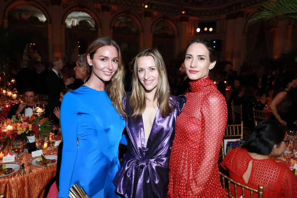 NEW YORK, NY - OCTOBER 16: Ashlee Harrison, Lara Meiland Shaw and Zani Gugelmann attend Casita Maria Fiesta 2018 at The Plaza Hotel on October 16, 2018 in New York. (Photo by Gonzalo Marroquin/PMC) *** Local Caption *** Ashlee Harrison;Lara Meiland Shaw;Zani Gugelmann