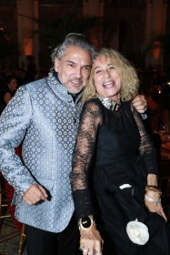 NEW YORK, NY - OCTOBER 16: Carlos Mota and Ann Dexter-Jones attend Casita Maria Fiesta 2018 at The Plaza Hotel on October 16, 2018 in New York. (Photo by Gonzalo Marroquin/PMC) *** Local Caption *** Carlos Mota;Ann Dexter-Jones