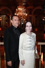 NEW YORK, NY - OCTOBER 16: Keith Widyolar and Mary McFadden attend Casita Maria Fiesta 2018 at The Plaza Hotel on October 16, 2018 in New York. (Photo by Gonzalo Marroquin/PMC) *** Local Caption *** Keith Widyolar;Mary McFadden