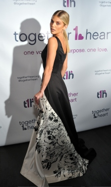 Actress AnnaLynne McCord attends the Together1Heart Foundation Gala at TAO Downtown in New York, NY on October 1, 2018. (Photo by Stephen Smith/Guest of a Guest)
