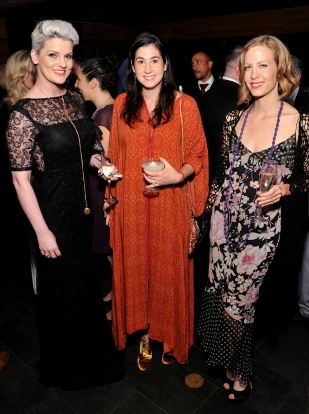 L,-R: Dara Young, Jenna LaPushner and Marina Zarina attend the Together1Heart Foundation Gala at TAO Downtown in New York, NY on October 1, 2018. (Photo by Stephen Smith/Guest of a Guest)