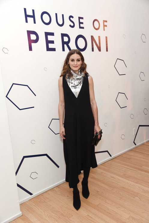 - New York, NY - 10/18/2018 - Olivia Palermo attends the annual celebration of creatives at House of Peroni, curated by Art Production Fund.