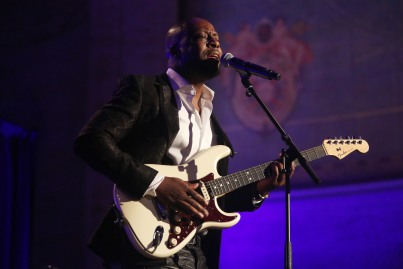 Wyclef Jean attends LLIMF 10th Anniversary Gala Dinner at Cipriani 25 Broadway on October 10, 2018 in New York. (Photo by Krista Kennell/PMC)