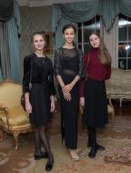 Daria Ionova, Marie Khoreva and Anastasia Kuikina