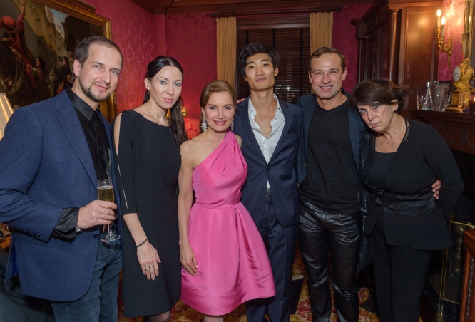Denis Firsov, Viktoria Tereshkina, Jean Shafiroff, Kimin Kim, Sergey Gordeev and Judith M. Hoffman