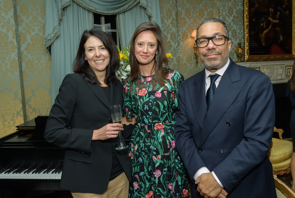 Melissa Smith, Suzanne Hall and Valentino Carlotti