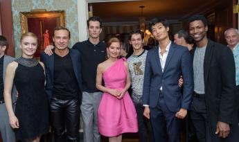 Sasha De Sola, Sergei Goreev, Dylan Gutierrez, Jean Shafiroff, Angelo Greco, Kimin Kim and Calvin Royal III