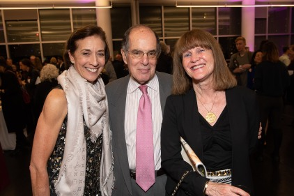 Dance Magazine Awardee Lourdes Lopez with Steve and Michele Pesner