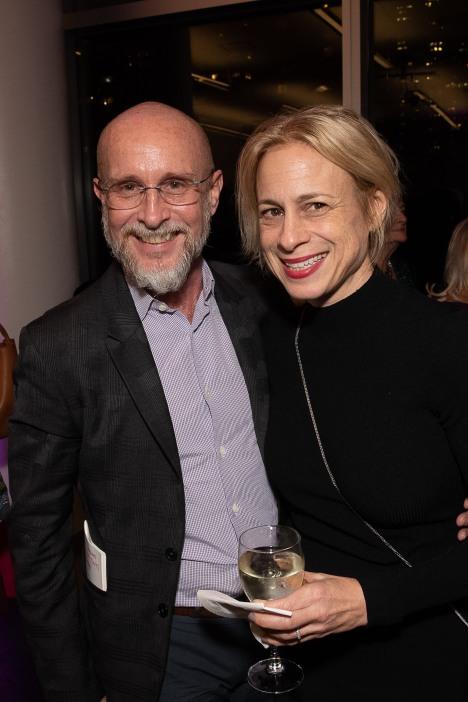 Patrick Corbin and Liz Redke