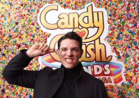 "NEW YORK, NY - FEBRUARY 06: Riverdale's Casey Cott attends the Candy Crush Friends Saga ""Sweet n Solo"" Valentine's Day Dining Experience at Dirt Candy on February 6, 2019 in New York City. (Photo by Ilya S. Savenok/Getty Images for King Games)"