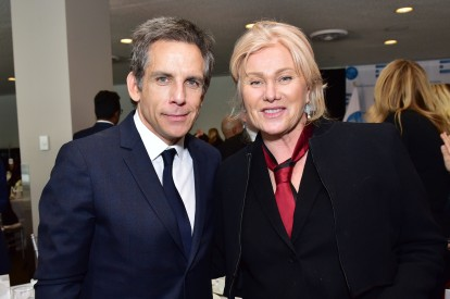 NEW YORK, NEW YORK - MARCH 01: Ben Stiller and Deborra-Lee Furness attend the UN Women For Peace Association 2019 Awards Luncheon at United Nations Headquarters on March 01, 2019 in New York City. (Photo by Sean Zanni/Patrick McMullan via Getty Images)
