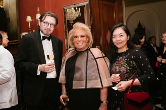Michael Haider, Director of the Austrian Cultural Forum, Joanna Fisher, and Yoko Nakamur