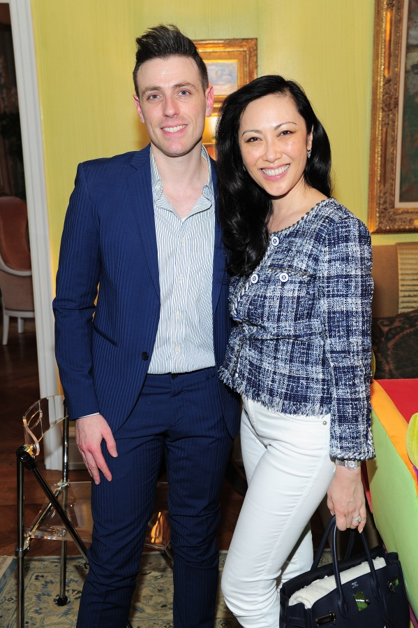 NEW YORK, NY - APRIL 17: Elad Kabilio and Allyson Tang attend Amy Fine Collins and Joanna Fisher Host Luncheon For Tabula Rasa Dance Theater at Private Residence on April 17, 2019 in New York. (Photo by Owen Hoffmann/PMC)