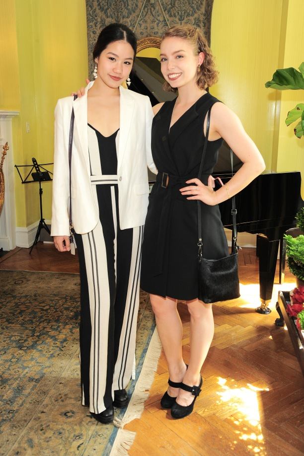 NEW YORK, NY - APRIL 17: Winnie Asawakanjanakit and Fiona Hubert attend Amy Fine Collins and Joanna Fisher Host Luncheon For Tabula Rasa Dance Theater at Private Residence on April 17, 2019 in New York. (Photo by Owen Hoffmann/PMC)