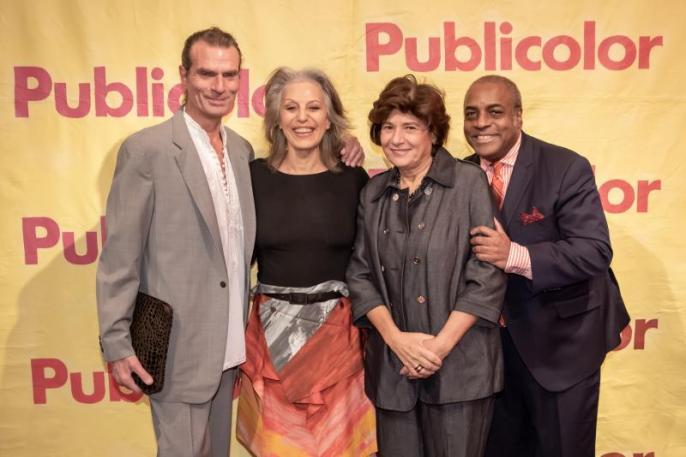 Robert Di Mauro, Ruth Lande Shuman, Mickey Ateyeh, Jeffrey Banks