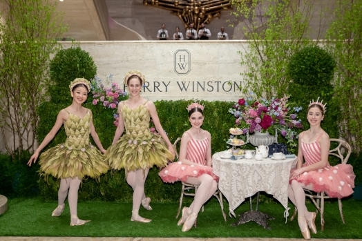 Harry Winston and Ballerinas by Annie Watt Agency