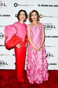 NEW YORK, NY - MAY 2: Irene Rodriguez and Agatha Ruiz de la Prada attend El Museo del Barrio's 50th Anniversary Gala at The Plaza on May 2, 2019 in New York. (Photo by Aurora Rose/PMC)
