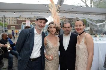 Jesse and Elizabeth Gordon, John Josephson and Carolina Zapf