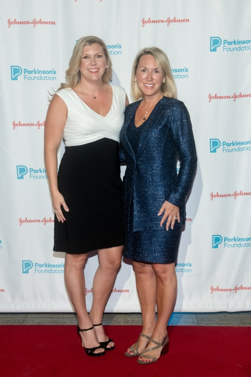 Kara Bond and Jenna Abernathy attend Parkinson's Foundation New York Gala at Cipriani 25 Broadway on May 7, 2019 in New York. (Photo by Michael Ostuni/PMC)