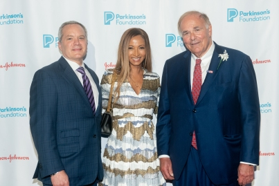 Michael Weil, Shirley Weil and Edward Rendell attend Parkinson's Foundation New York Gala at Cipriani 25 Broadway on May 7, 2019 in New York. (Photo by Michael Ostuni/PMC)