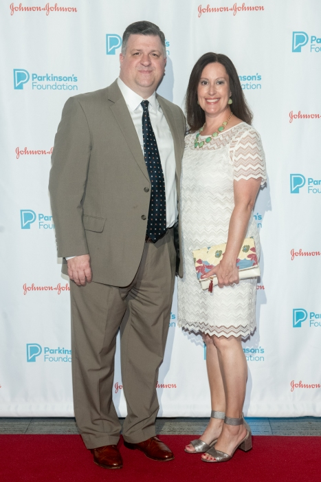 Paul Cianci and Heather Cianci attend Parkinson's Foundation New York Gala at Cipriani 25 Broadway on May 7, 2019 in New York. (Photo by Michael Ostuni/PMC)