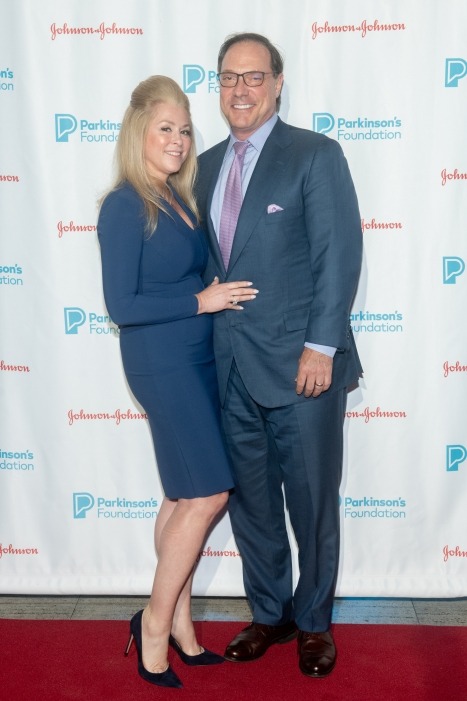 Stephanie Rosen and Steve Rosen attend Parkinson's Foundation New York Gala at Cipriani 25 Broadway on May 7, 2019 in New York. (Photo by Michael Ostuni/PMC)