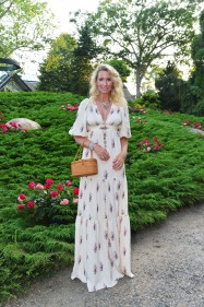Mary Snow attends LongHouse Reserve 2019 Summer Benefit Honoring Julian Schnabel And Donna Karan at LongHouse Reserve on July 20, 2019 in East Hampton, NY.