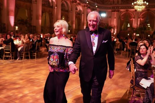 Ambassador Mary Dawkins and General Peter Dawkins