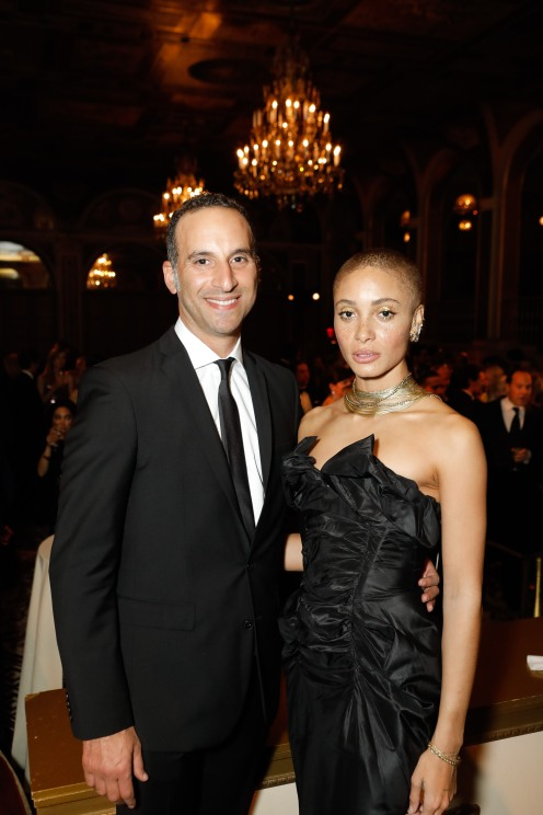 Kareem Gahed and Adwoa Aboah