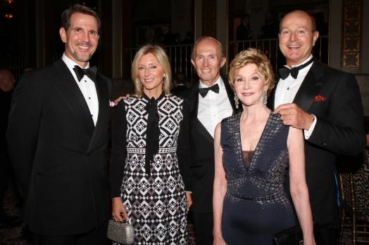 Crown Prince Pavlos of Greece, Crown Princess Marie-Chantal of Greece, Mark Gilbertsonm, Jaqueline Weld Drake, Prince Dimitri of Yugoslavia,
